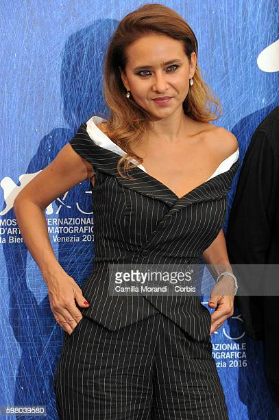 Nelly Karim attends the 73rd Venice Film Festival on August 31 2016 in Venice Italy