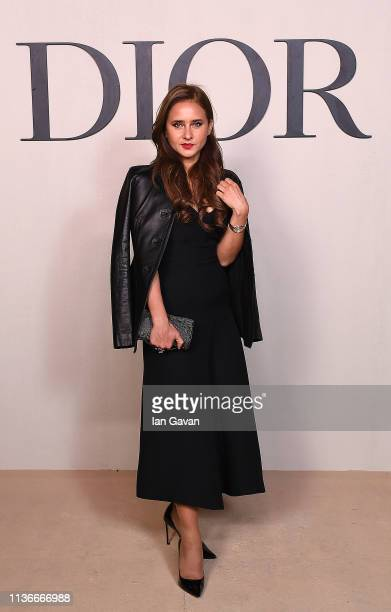 Nelly Karim attends the Christian Dior Haute Couture Spring Summer 2019 Collection show at Safa Park on March 18 2019 in Dubai United Arab Emirates