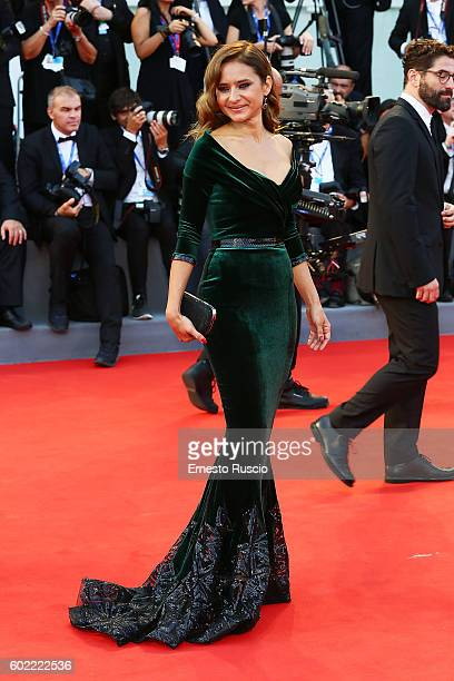 Nelly Karim attends the closing ceremony of the 73rd Venice Film Festival at Sala Grande on September 10 2016 in Venice Italy