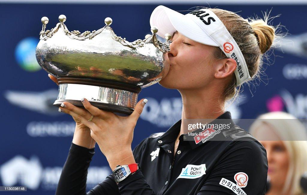 2019 ISPS Handa Women's Australian Open: Day 4 : News Photo