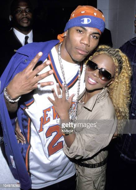Nelly Lil' Kim during Ram Jam 2000 at Nassau Coliseum in Uniondale New York United States