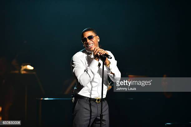 Nelly performs a Night of Symphonic HipHop accompany with the Symphony of the Americas at Broward Center for Performing Arts AuRene Theater on...