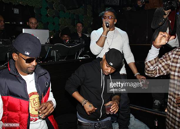Nelly performs at the 2 year anniversary celebration at Greenhouse on November 10 2010 in New York City