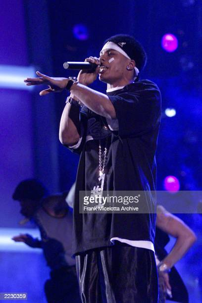 Nelly performs at the 44th Annual Grammy Awards at the Staples Center Los Angeles Ca Feb 27 2002