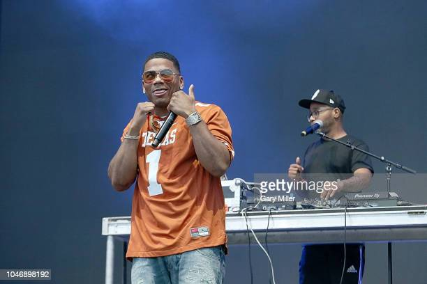 Nelly performs in concert during the ACL Music Festival at Zilker Park on October 6, 2018 in Austin, Texas.