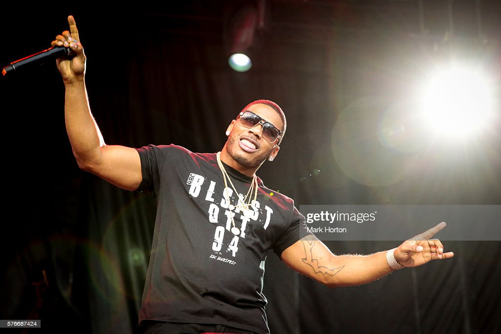 Nelly performs on Day 8 of the RBC Bluesfest on July 16, 2016 in Ottawa, Canada.