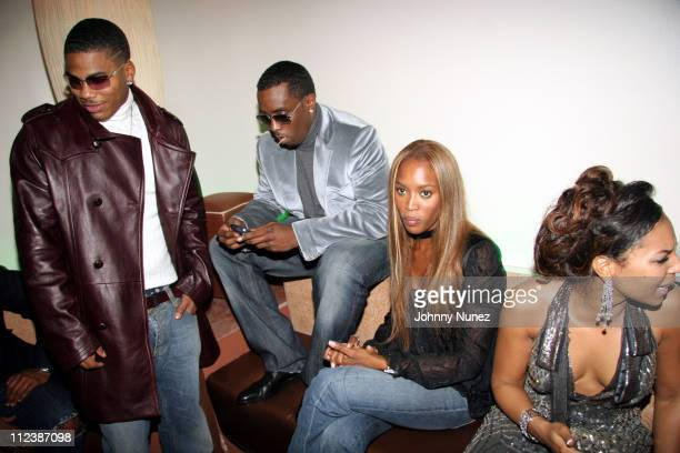 Nelly Sean 'Diddy' Combs Naomi Campbell and Ashanti