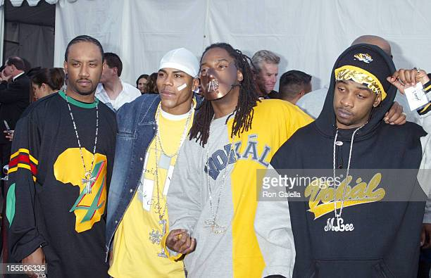 Nelly St Lunatics during The 30th Annual American Music Awards Arrivals at Shrine Auditorium in Los Angeles California United States