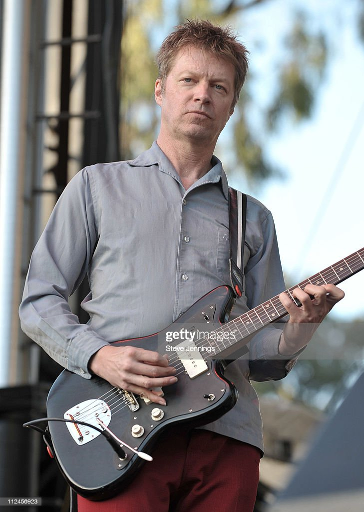 Nels Cline of Wilco performs on Day 3 of the Outside Lands Music and Arts Festival on August 24, 2008 in San Francisco, California.
