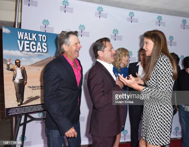 Nels Van Patten James Van Patten and Caitlyn Jenner attend a screening of Walk To Vegas at the 30th Annual Palm Springs International Film Festival...
