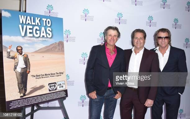Nels Van Patten James Van Patten and Vincent Van Patten attend a screening of Walk To Vegas at the 30th Annual Palm Springs International Film...
