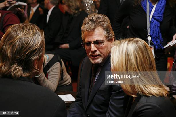 Nels Van Patten Ryan O'Neal and Tatum O'Neal attends the Farrah Fawcett Memorabilia Donation at the Smithsonian National Museum Of American History...