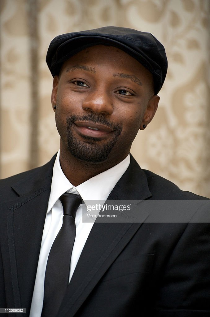 Nelsan Ellis at the 'True Blood' press conference at the Four Seasons Hotel on July 22, 2009 in Beverly Hills, California.