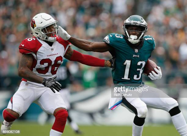 c38794f4e14 Nelson Agholor of the Philadelphia Eagles makes a 72yard catch and runs the  ball in for