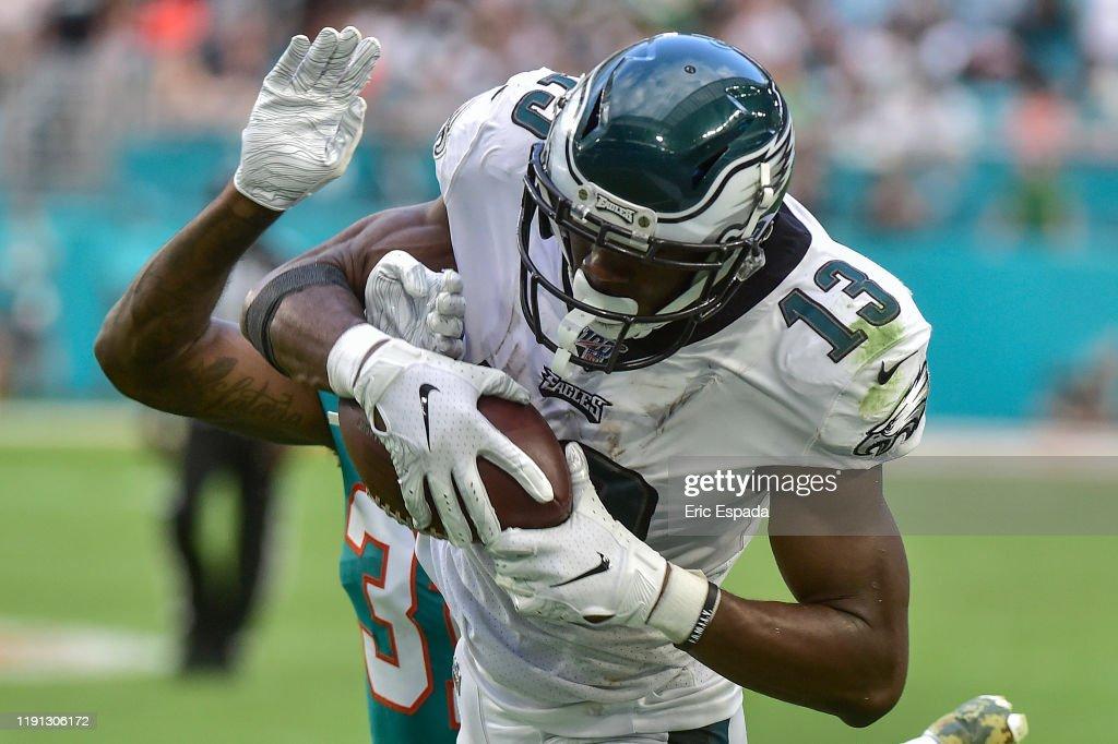 Philadelphia Eagles vMiami Dolphins : News Photo