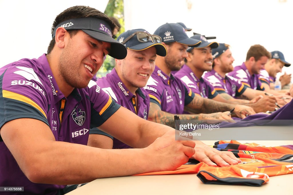 Melbourne Storm Family Day : News Photo