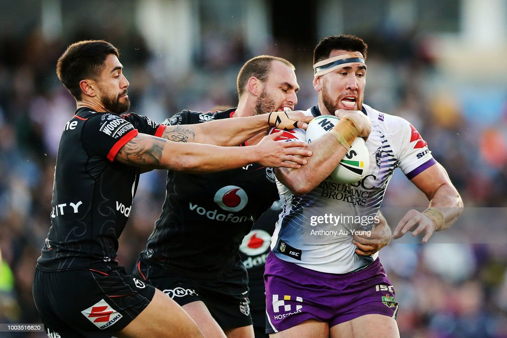 NRL Rd 19 - Warriors v Storm