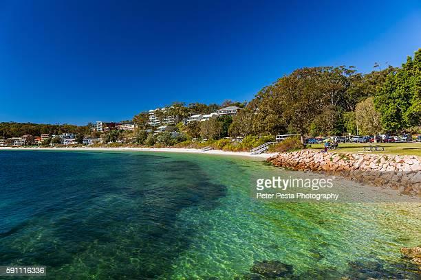 Nelson Bay beach