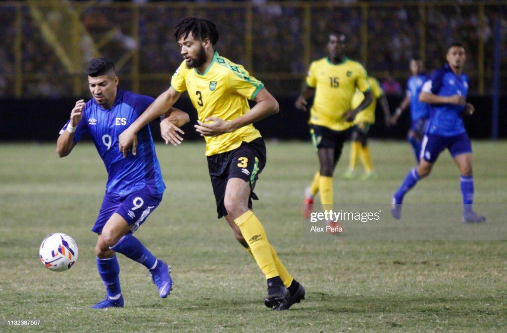 SLV: El Salvador v Jamaica - Gold Cup 2019 Qualifiers
