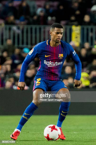 Nelson Cabral Semedo of FC Barcelona in action during the Copa Del Rey 201718 Round of 16 match between FC Barcelona and RC Celta de Vigo at Camp Nou...