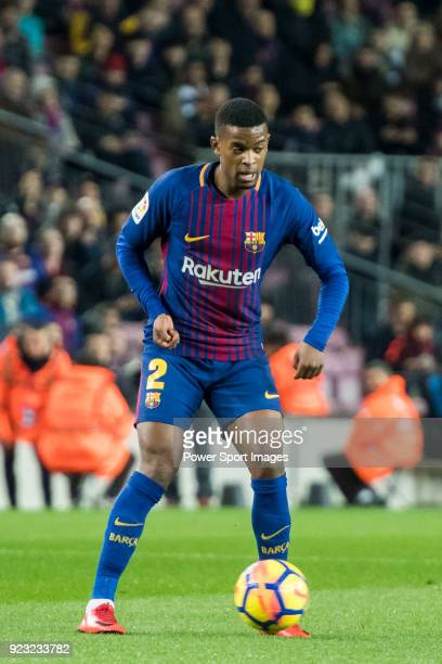 Nelson Cabral Semedo of FC Barcelona in action during the La Liga 201718 match between FC Barcelona and Deportivo Alaves at Camp Nou on 28 January...