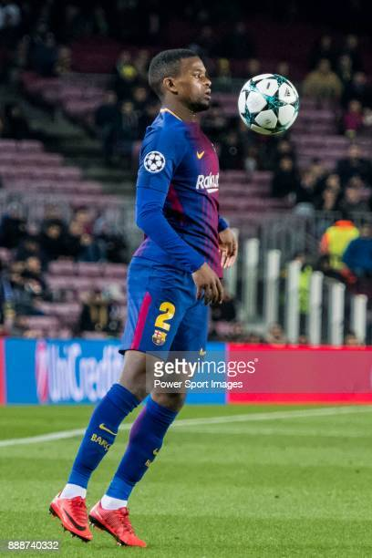 Nelson Cabral Semedo of FC Barcelona in action during the UEFA Champions League 201718 match between FC Barcelona and Sporting CP at Camp Nou on 05...