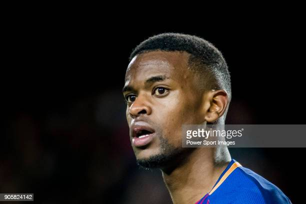 Nelson Cabral Semedo of FC Barcelona looks on during the Copa Del Rey 201718 Round of 16 match between FC Barcelona and RC Celta de Vigo at Camp Nou...