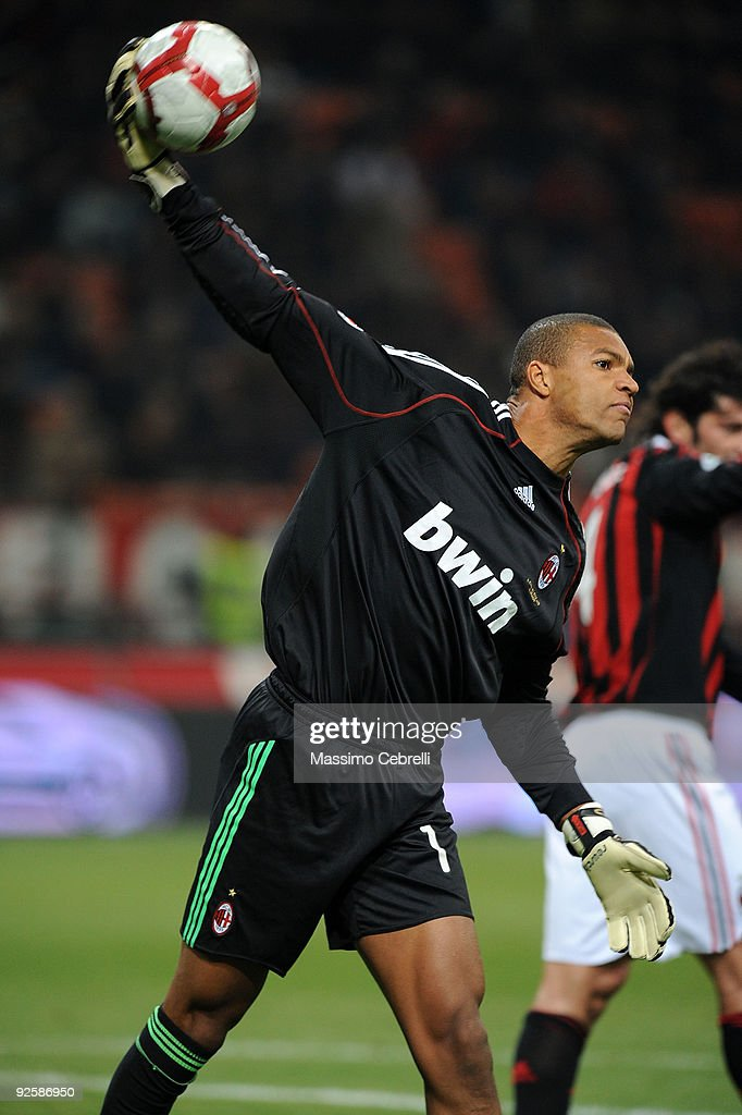 Nelson Dida Of Ac Milan In Action During The Serie A Match Between Ac News Photo Getty Images