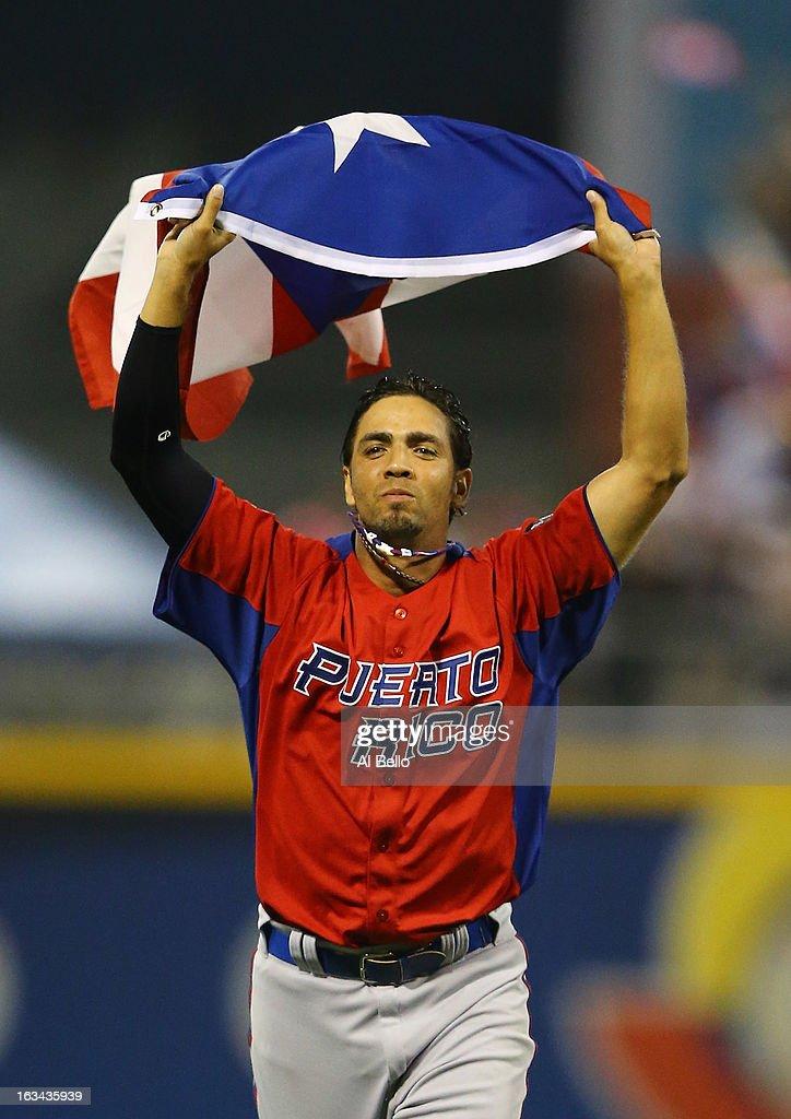 World Baseball Classic - Pool C - Puerto Rico v Venezuela : News Photo