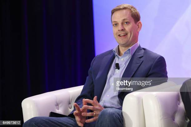 Nelson Griggs executive vice president of the global corporate client group at Nasdaq Inc speaks during The Montgomery Summit in Santa Monica...