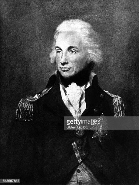 Nelson Horatio *2909175821101805Admiral GB Portrait nach dem Gemaelde von Francis Abbott undatiert identisch mit Bild
