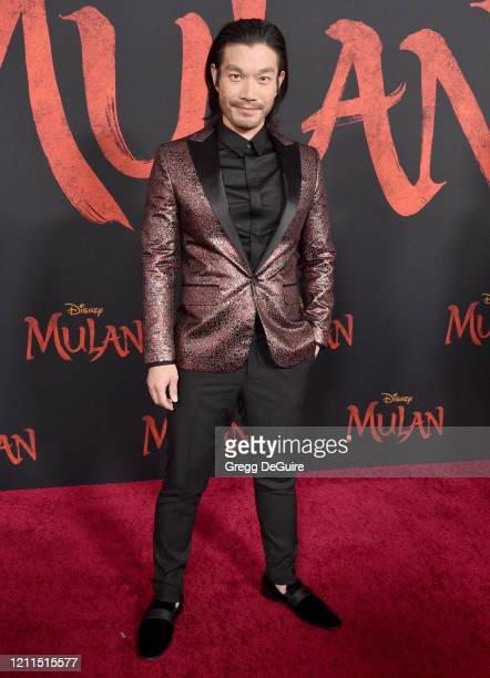 Nelson Lee attends the Premiere Of Disney's Mulan on March 09 2020 in Hollywood California