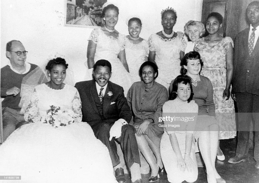 Nelson Mandela... : News Photo