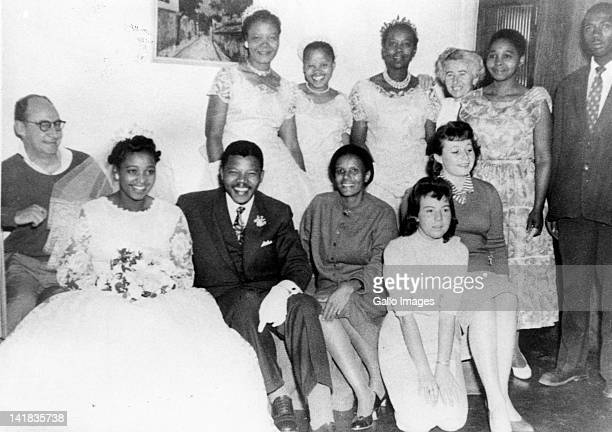Nelson Mandela and Winnie Madikizela's wedding photo