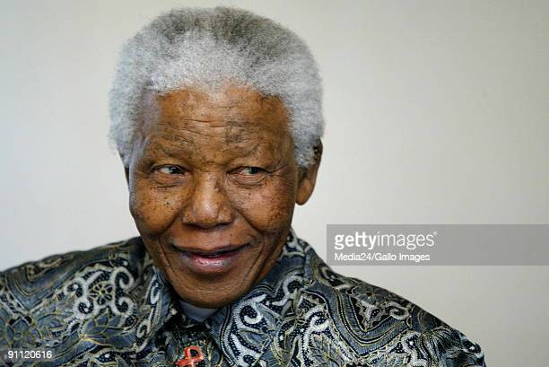 Nelson Mandela at the launch of a new series of comic books on his life The launch is part of his 87th birthday celebrations