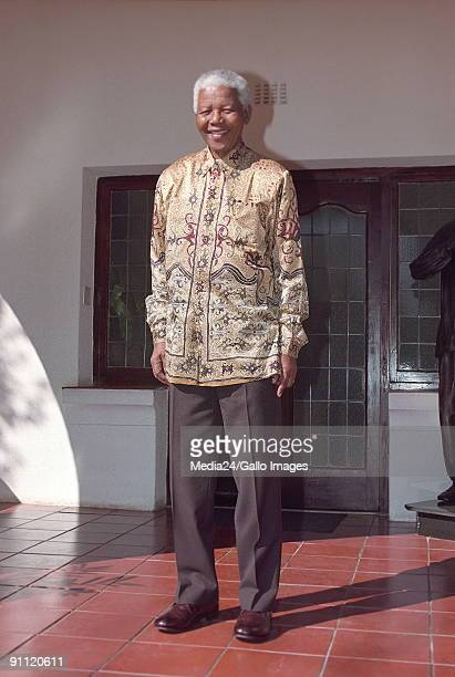 Nelson Mandela former President of South Africa and icon to the people