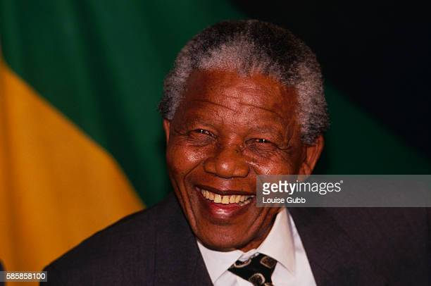 Nelson Mandela is overjoyed at the positive result of white referendums to continue with ANC negotiations The former President of South Africa and...