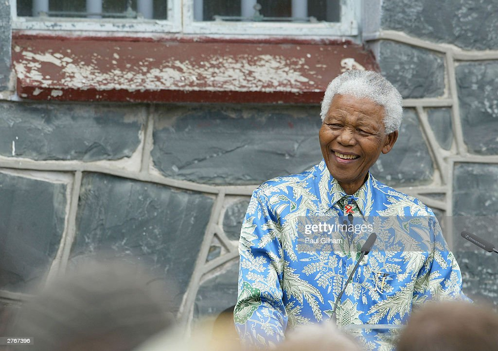 Robben Island Press Conference : News Photo