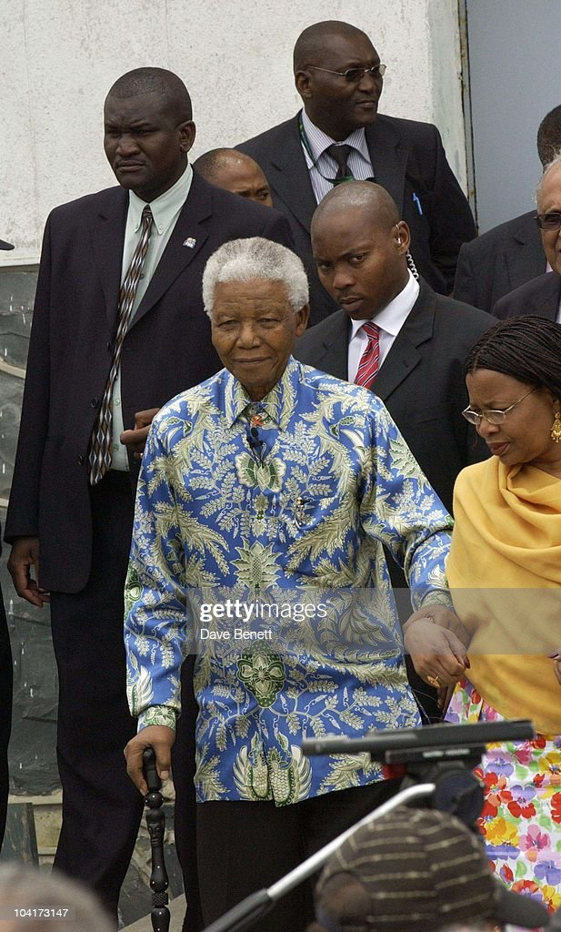 Nelson Mandela, The Stars Of Rock And Roll Join Forces For Nelson Mandela's 46664 Concert In Cape Town, South Africa. In The Pre, Concert Build Up The Artists And Mr Mandela Travelled To The Prison On Robben Island, Where Mr Mandela Was Imprisoned For 27 Years And Was Known Simple As Prisoner 46664, South Africa Gears Up For Aids Awareness Mandela Concert 46664. The Concert Is In Association With Mtv's Staying Alive & Www.46664.com Powered By Tiscali.