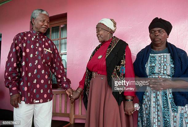 Nelson Mandela visits Qunu the village where he lived as a child