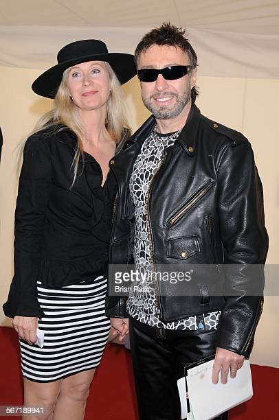 Nelson Mandela'S 90Th Birthday Dinner In Hyde Park London Britain 25 Jun 2008 Paul Rodgers And Wife