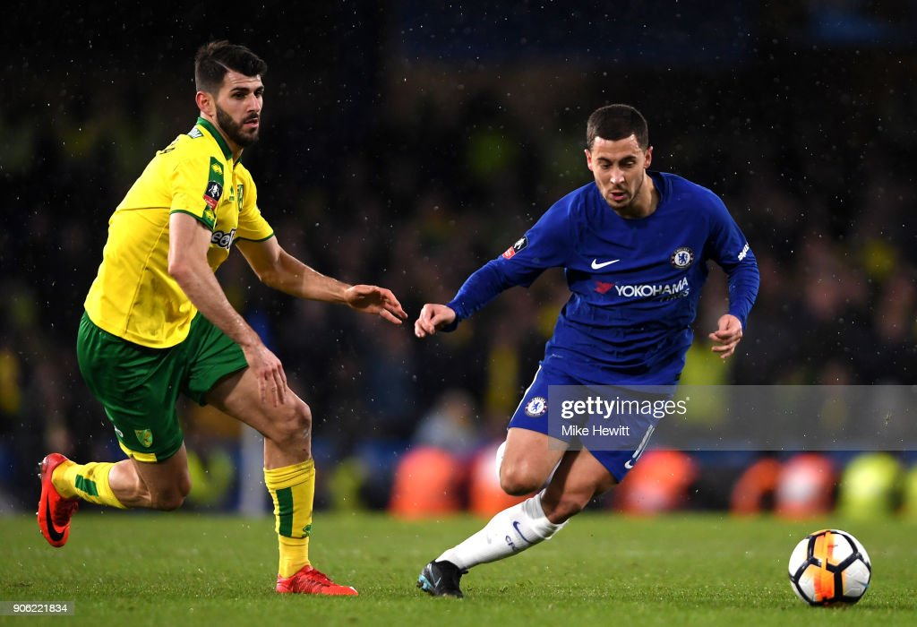 Chelsea v Norwich City - The Emirates FA Cup Third Round Replay : News Photo