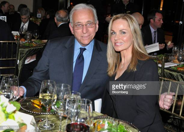 Nelson Peltz chief executive officer of Trian Fund Management LP left and his wife Claudia Peltz attend the Simon Wiesenthal Center's Humanitarian...