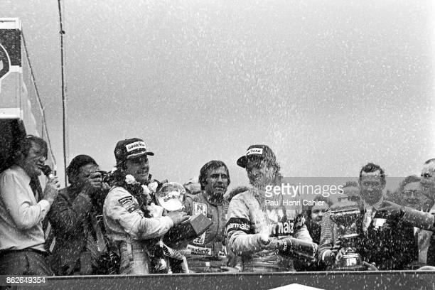 Nelson Piquet Alan Jones Carlos Reutemann Grand Prix of Great Britain Brands Hatch 13 July 1980