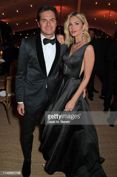 Nelson Piquet Jr and Gabriella Borges attend a private dinner hosted by Alejandro Agag to celebrate the World Premiere of Formula E documentary And...