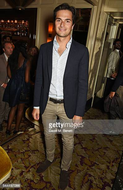 Nelson Piquet Jr attends the FIA Formula E Championship private dinner at Chiltern Firehouse on July 1 2016 in London England