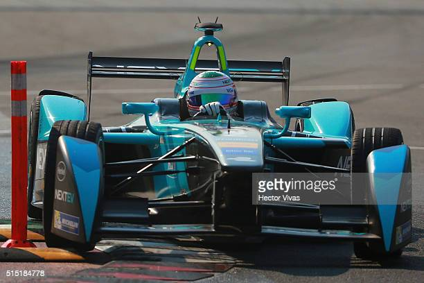 Nelson Piquet Jr of Nextev TCR and Dragon Racing during the Mexico City Formula E Championship 2016 at Autodromo Hermanos Rodriguez on March12, 2016...