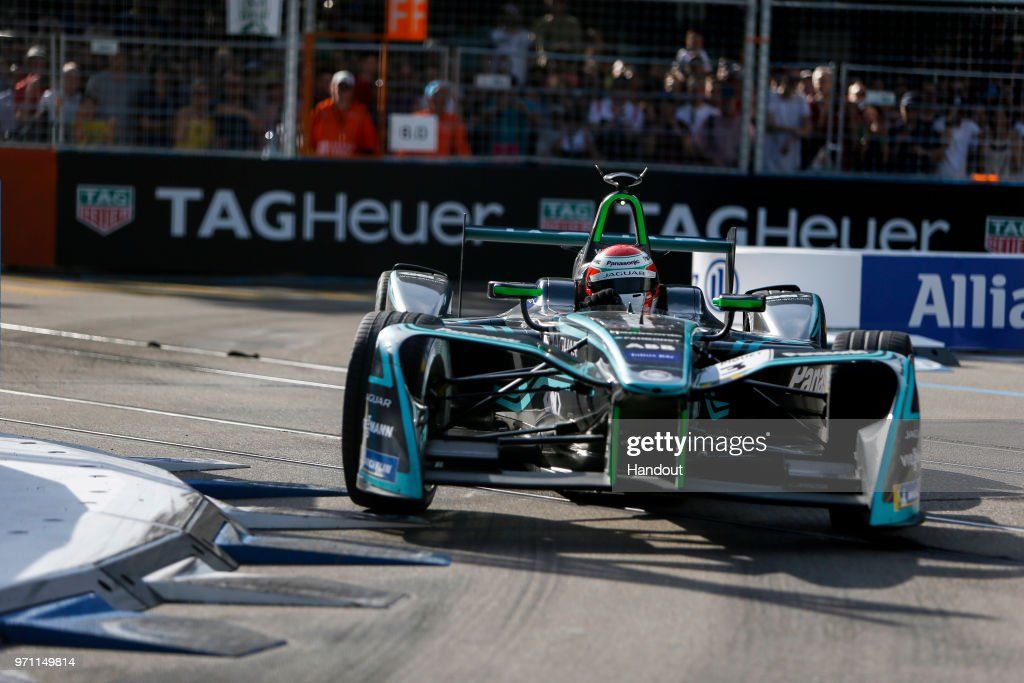 Nelson Piquet Jr. (BRA), Panasonic Jaguar Racing, Jaguar I-Type II. on June 10, 2018 in Zurich, Switzerland.