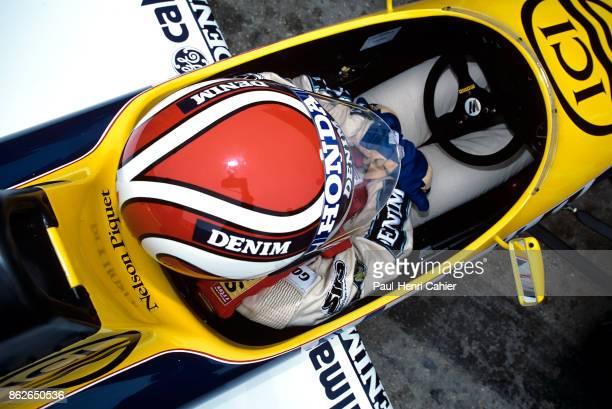 Nelson Piquet WilliamsHonda FW11 Grand Prix of Spain Circuito de Jerez 13 April 1986