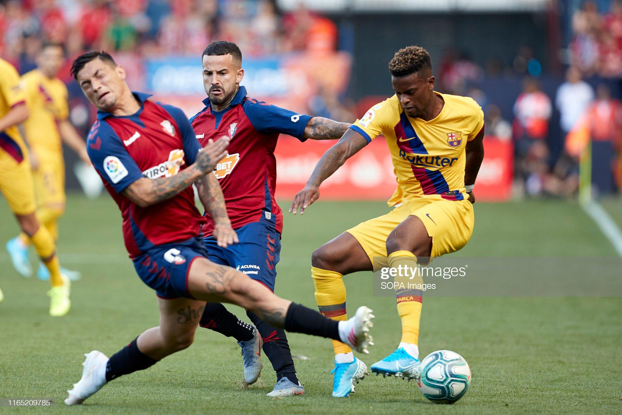 صور مباراة : أوساسونا - برشلونة 2-2 ( 31-08-2019 )  Nelson-semedo-chimy-avila-and-ruben-garca-in-action-during-the-la-picture-id1165209785?s=2048x2048